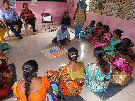10) VHC member shelpada participate in nuturation game