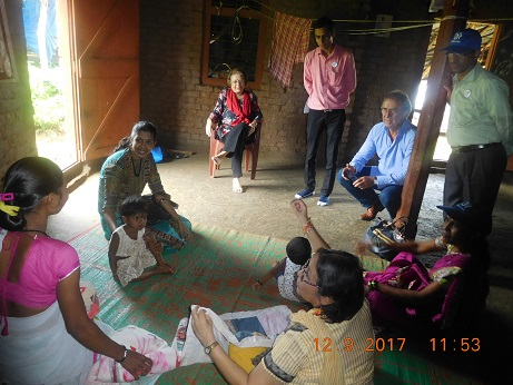 3) J&J PNC mother home visit
