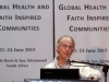 KLEINMOND, SOUTH AFRICA - JUNE 22: Sister Alison Munro, Director of the Southern African Catholic Bishops\' Conference AIDS Office, at the Conference on Global Health and Faith Based Communities on June 22, 2015 in Kleinmond, South Africa. The Conference on Global Health and Faith Based Communities is hosted by the Ecumenical Foundation of Southern Africa (EFSA) in partnership with the Ahimsa Roundtable (France) and World Faiths Development Dialogue (Washington-DC). [Other sponsors include The Global Fund, World Vision, UnitAid, Gavi, Brot für die Welt, Sanofi Pasteur, The Handa Foundation, Fondation Raja, Ahimsa Partners and Thelem.] The Conference, with more than 100 delegates from approximately 30 countries, runs from 21-24 June 2015 at the Arabella Hotel & Spa, Kleinmond, Western-Cape, South Africa. (Photo by Gallo Images / Nardus Engelbrecht)