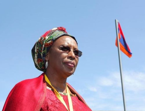 Maggy Barankitse, mother to 20,000 children, pays a visit to Lyon