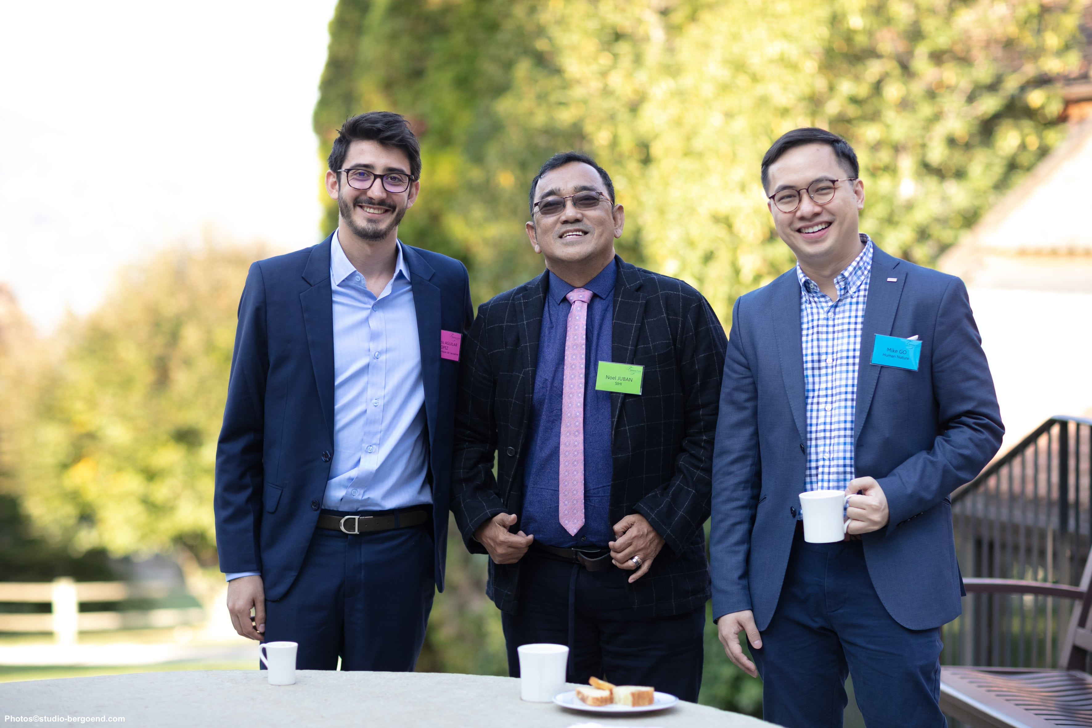 Fernando Aguilar, Noel Juban and Mike Go
