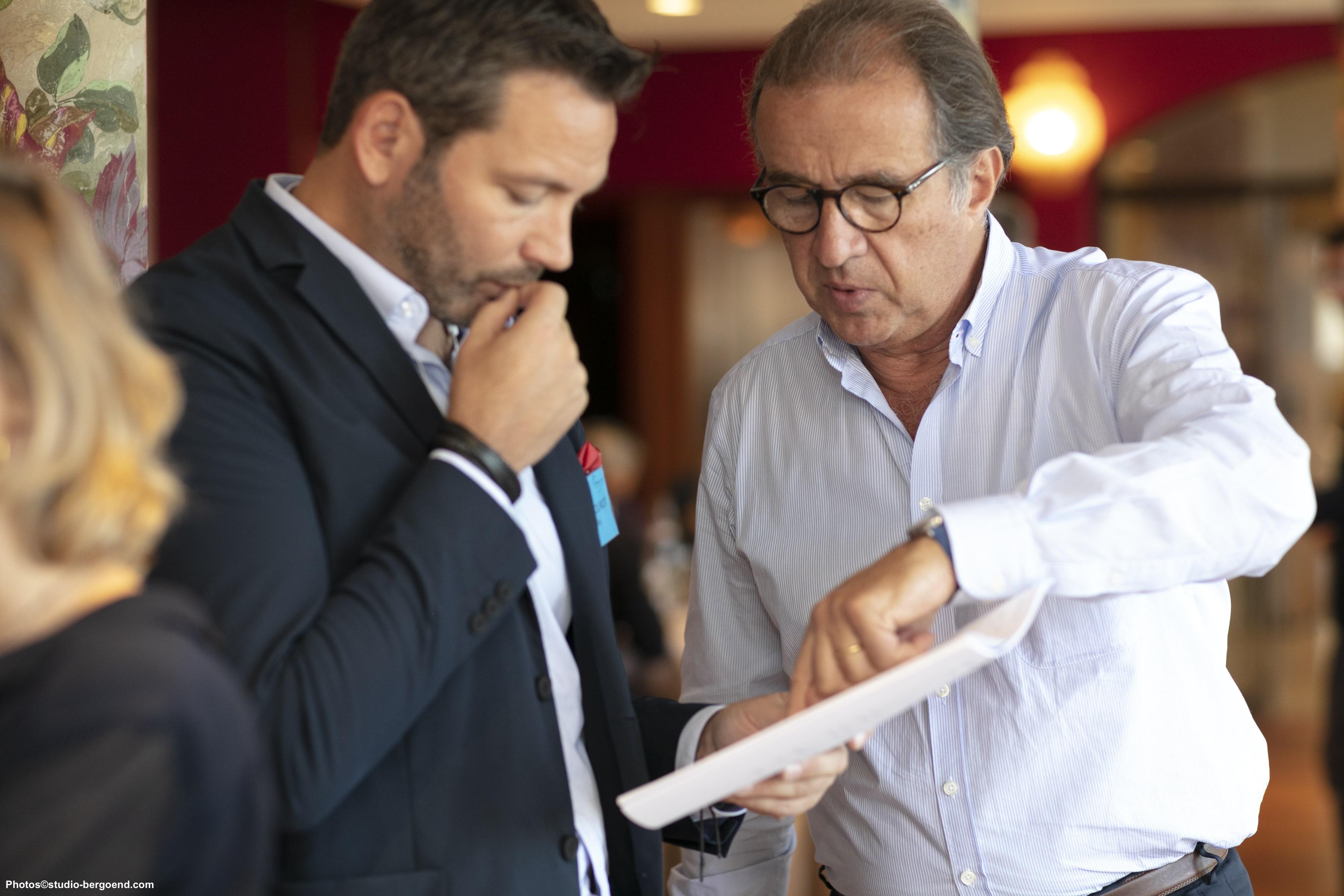 Arnaud Mourot and Jean-François de Lavison