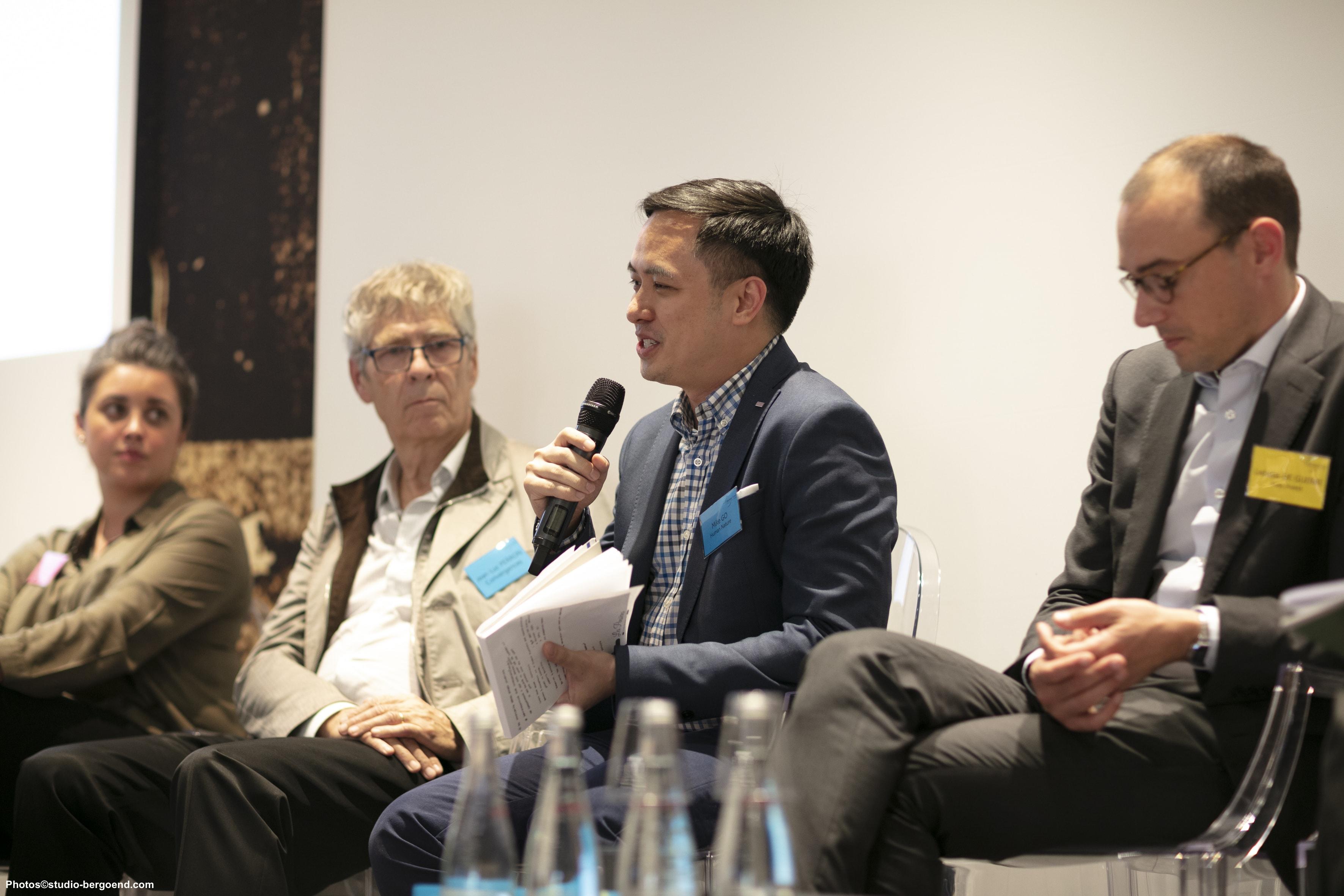 Jean-Luc Perron, Mike Go and Ladislas de Guerre
