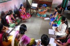 18) Non School Going Adolescent Girls at Potkhal