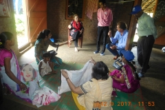 4) Discussed with J&J project mother