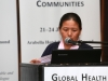 KLEINMOND, SOUTH AFRICA - JUNE 22: Tsamchoe Tsering, of CCTM office Darhamsala at the Conference on Global Health and Faith Based Communities on June 22, 2015 in Kleinmond, South Africa. The Conference on Global Health and Faith Based Communities is hosted by the Ecumenical Foundation of Southern Africa (EFSA) in partnership with the Ahimsa Roundtable (France) and World Faiths Development Dialogue (Washington-DC). [Other sponsors include The Global Fund, World Vision, UnitAid, Gavi, Brot für die Welt, Sanofi Pasteur, The Handa Foundation, Fondation Raja, Ahimsa Partners and Thelem.] The Conference, with more than 100 delegates from approximately 30 countries, runs from 21-24 June 2015 at the Arabella Hotel & Spa, Kleinmond, Western-Cape, South Africa. (Photo by Gallo Images / Nardus Engelbrecht)