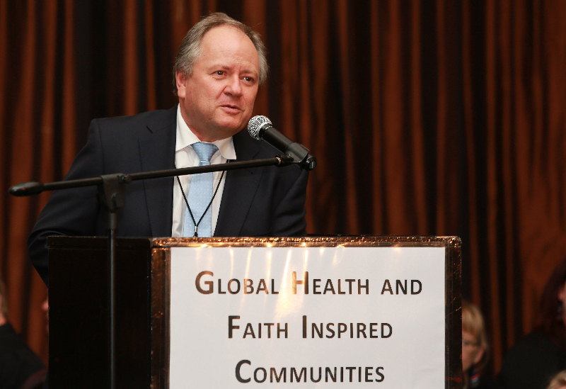 KLEINMOND, SOUTH AFRICA - JUNE 21: Dr. Renier Koeglenberg, Executive Director of Ecumenical Foundation of Southern Africa at the Conference on Global Health and Faith Based Communities on June 21, 2015 in Kleinmond, South Africa. The Conference on Global Health and Faith Based Communities is hosted by the Ecumenical Foundation of Southern Africa (EFSA) in partnership with the Ahimsa Roundtable (France) and World Faiths Development Dialogue (Washington-DC). [Other sponsors include The Global Fund, World Vision, UnitAid, Gavi, Brot für die Welt, Sanofi Pasteur, The Handa Foundation, Fondation Raja, Ahimsa Partners and Thelem.] The Conference, with more than 100 delegates from approximately 30 countries, runs from 21-24 June 2015 at the Arabella Hotel & Spa, Kleinmond, Western-Cape, South Africa. (Photo Nardus Engelbrecht)