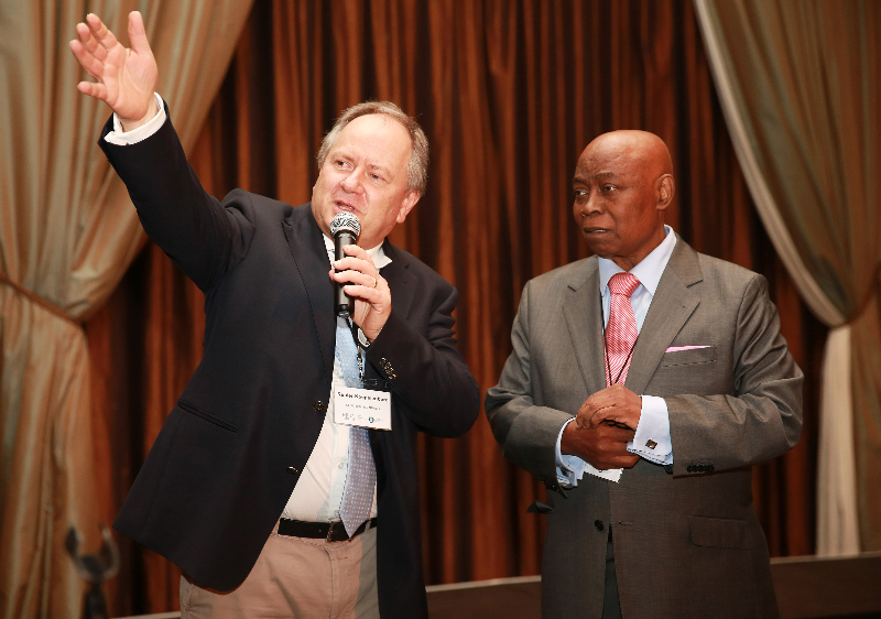 KLEINMOND, SOUTH AFRICA - JUNE 21: Dr. Renier Koeglenberg, Executive Director of Ecumenical Foundation of Southern Africa seen at the Conference on Global Health and Faith Based Communities on June 21, 2015 in Kleinmond, South Africa. The Conference on Global Health and Faith Based Communities is hosted by the Ecumenical Foundation of Southern Africa (EFSA) in partnership with the Ahimsa Roundtable (France) and World Faiths Development Dialogue (Washington-DC). [Other sponsors include The Global Fund, World Vision, UnitAid, Gavi, Brot für die Welt, Sanofi Pasteur, The Handa Foundation, Fondation Raja, Ahimsa Partners and Thelem.] The Conference, with more than 100 delegates from approximately 30 countries, runs from 21-24 June 2015 at the Arabella Hotel & Spa, Kleinmond, Western-Cape, South Africa. (Photo Nardus Engelbrecht)