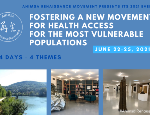 Save the date for next Ahimsa Event: June 22-25!