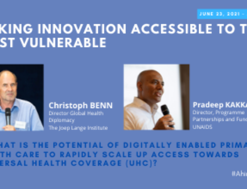 #AhimsaEvent21 – DAY 2 – How to make innovation accessible to the most vulnerable?