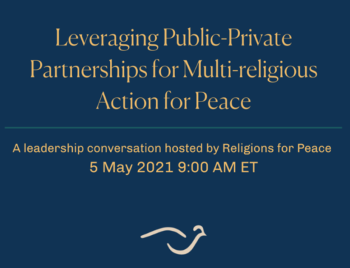 Leveraging Public-Private Partnerships for Multi-Religious Action for Peace