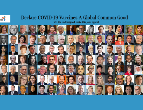 Make COVID-19 Vaccine A Global Common Good