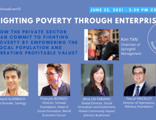 #AhimsaEvent21 – DAY 1 – Fighting poverty through enterprise
