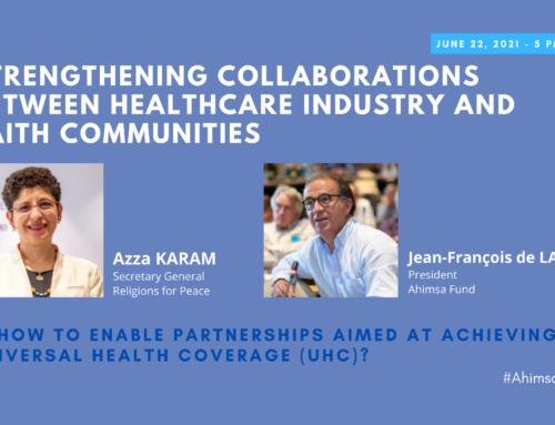 #AhimsaEvent21 – DAY 1 – Strengthening collaborations between Healthcare industry and faith communities