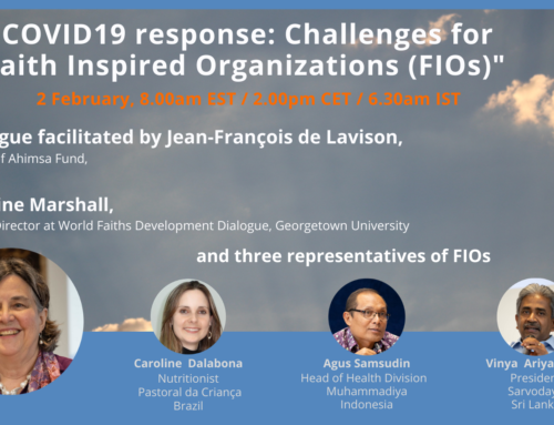 "Feedback on the conference: ""COVID19 response: Challenges for Faith Inspired Organizations"""
